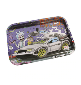 """Dunkees 10.5"""" x 6.5"""" Rolling Tray - Back to the Flower"""