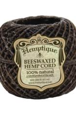 Hemptique Beeswaxed Hemp Wick 200' 1mm