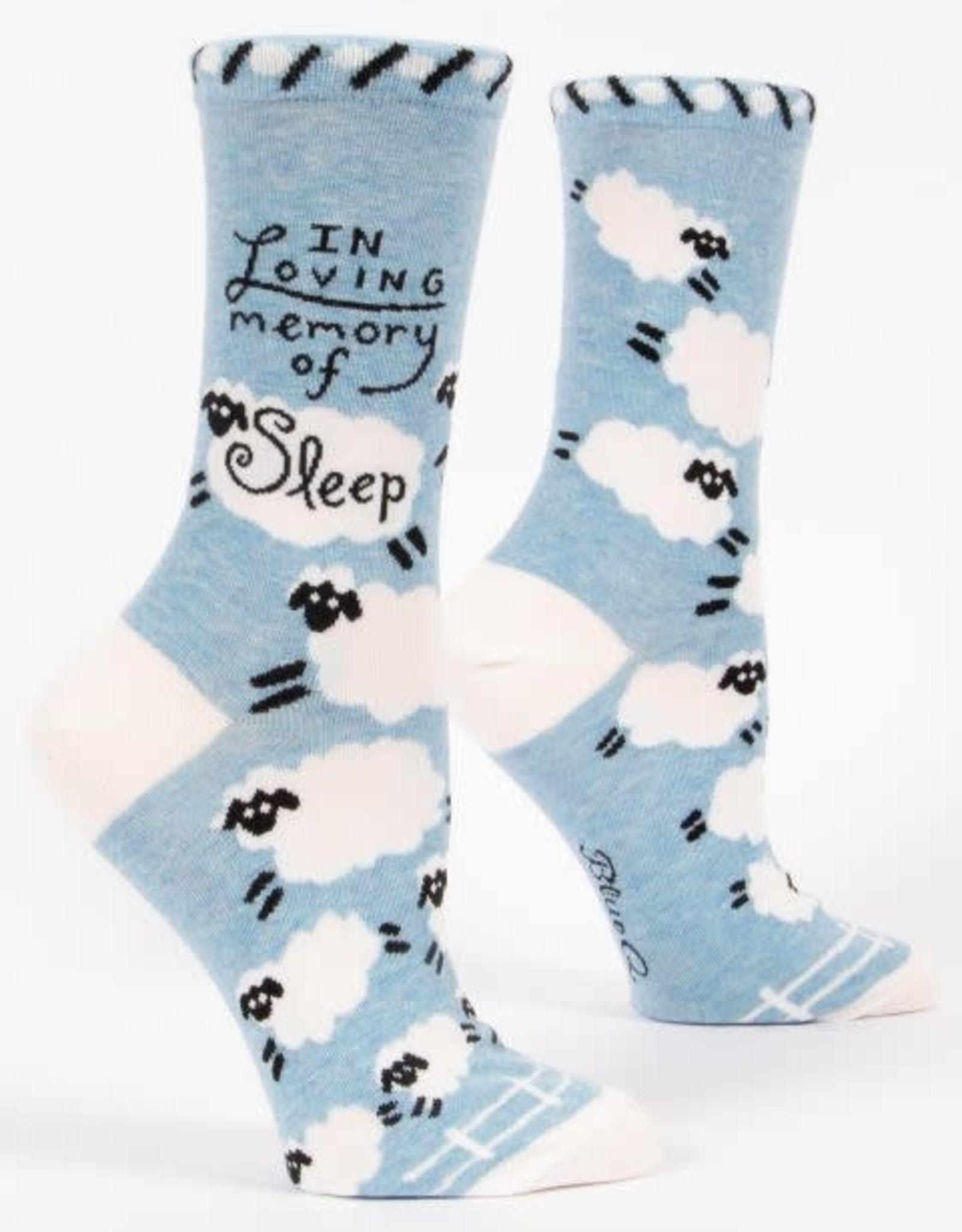 Loving Memory of Sleep Crew Socks