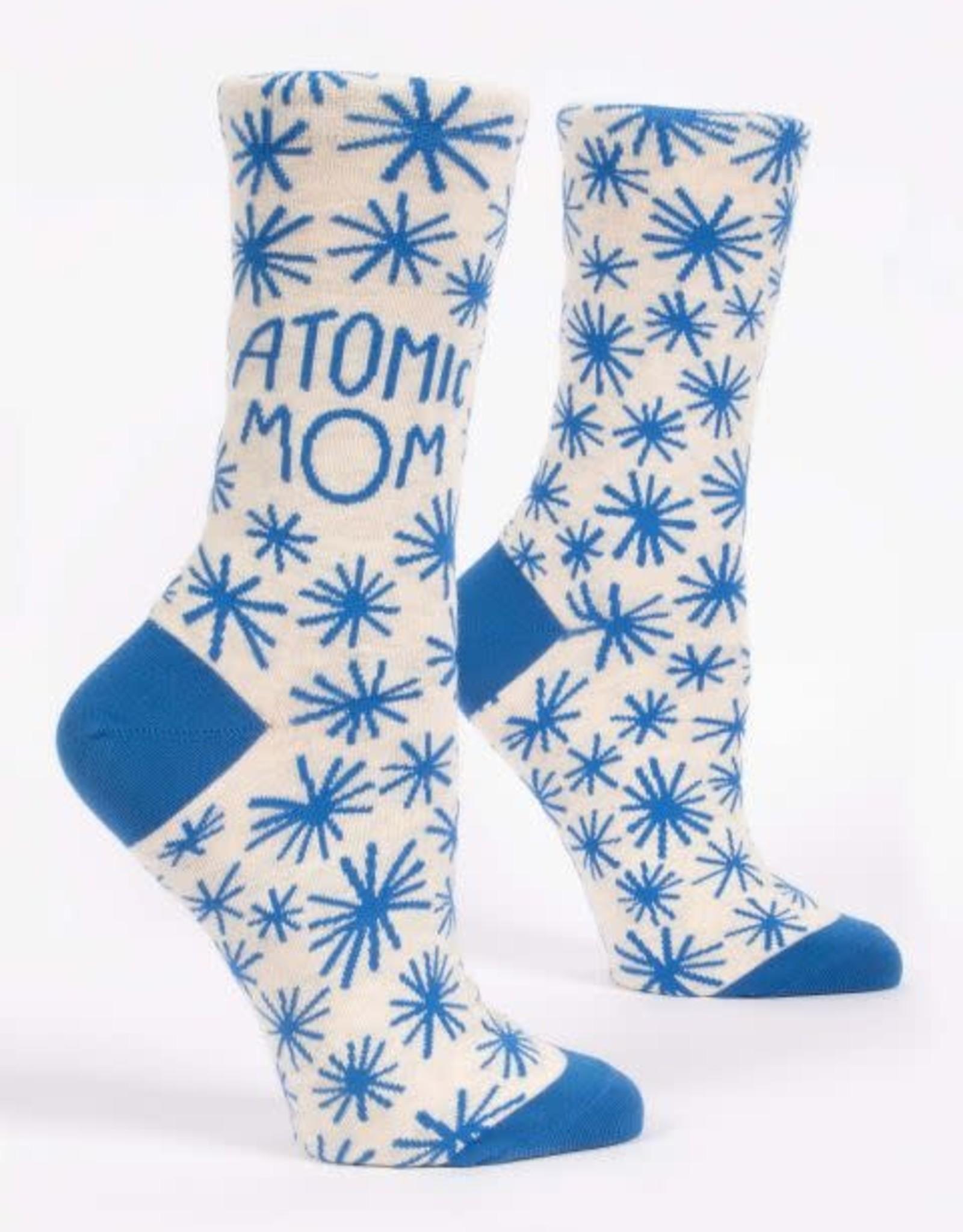 Atomic Mom Crew Socks
