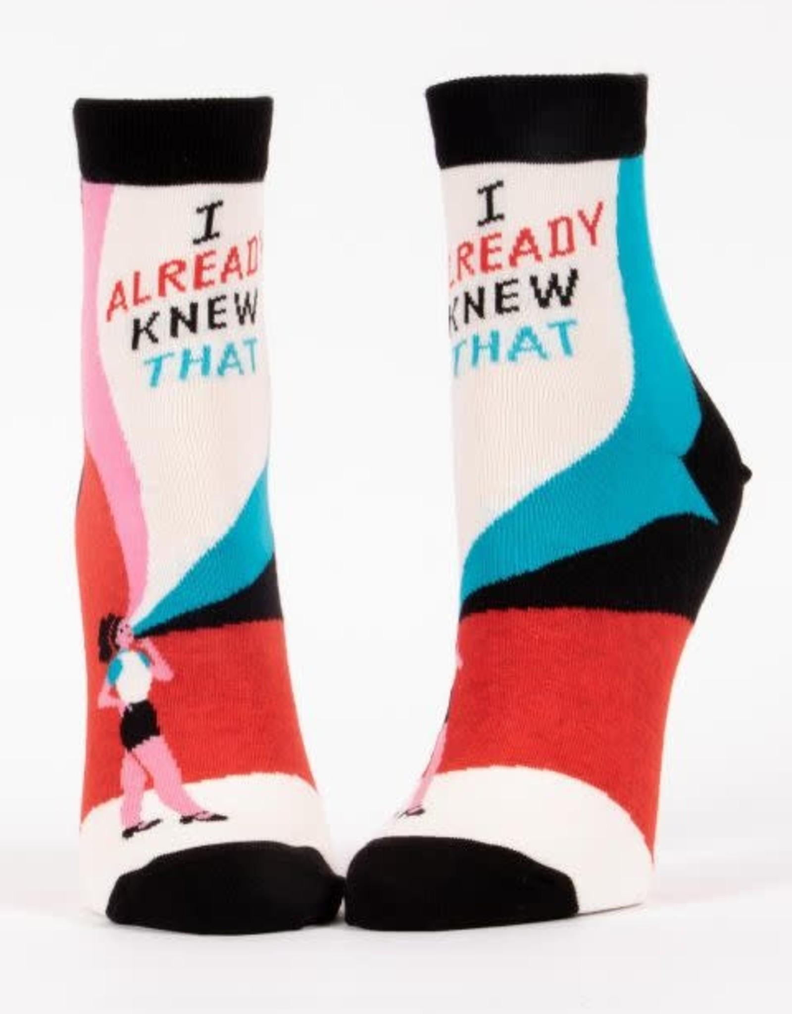 I Already Knew That Ankle Socks