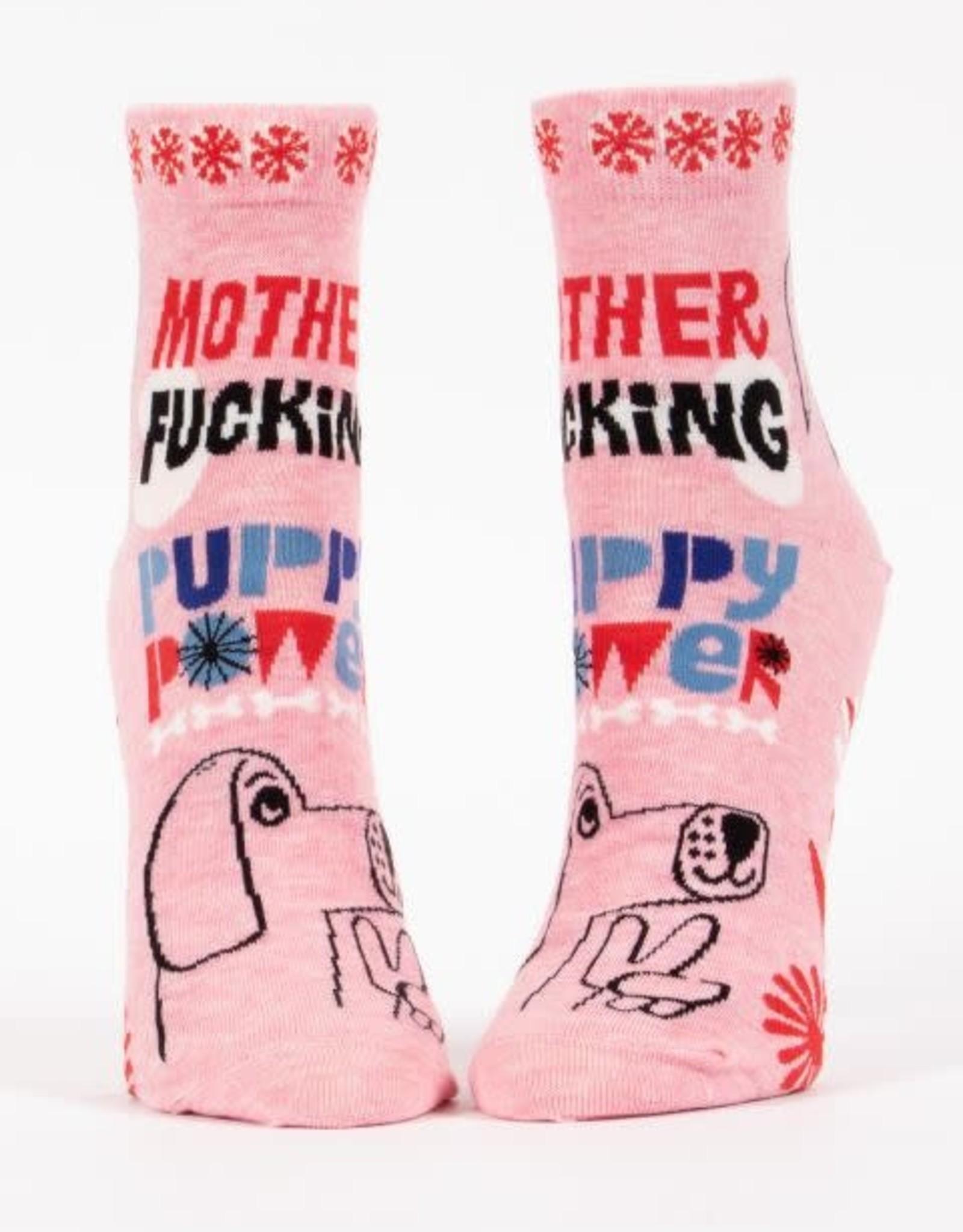 MF'in Puppy Power Ankle Socks