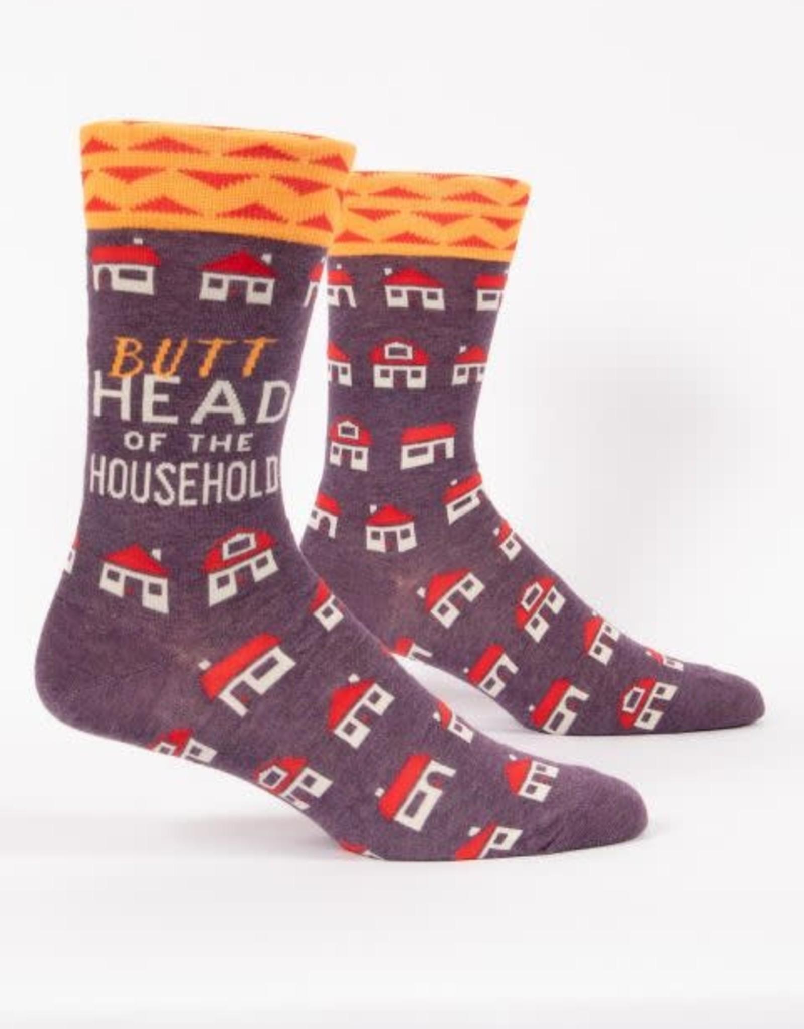 Butthead of the Household Men's Socks
