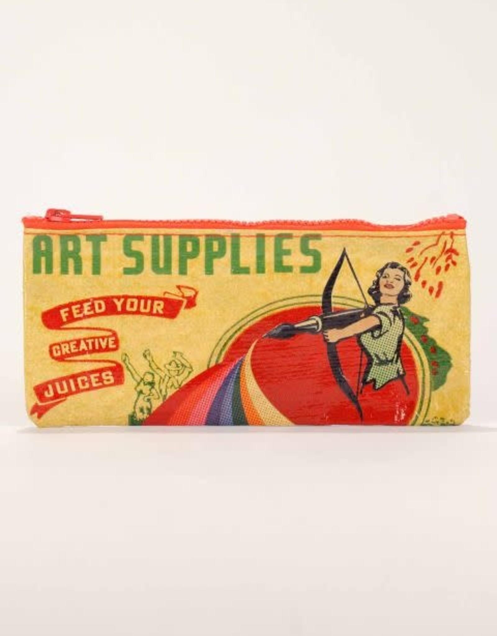Art Supplies Pencil Case
