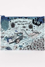 Oh! The Places Zipper Pouch