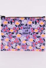 Wild At Heart Zipper Pouch
