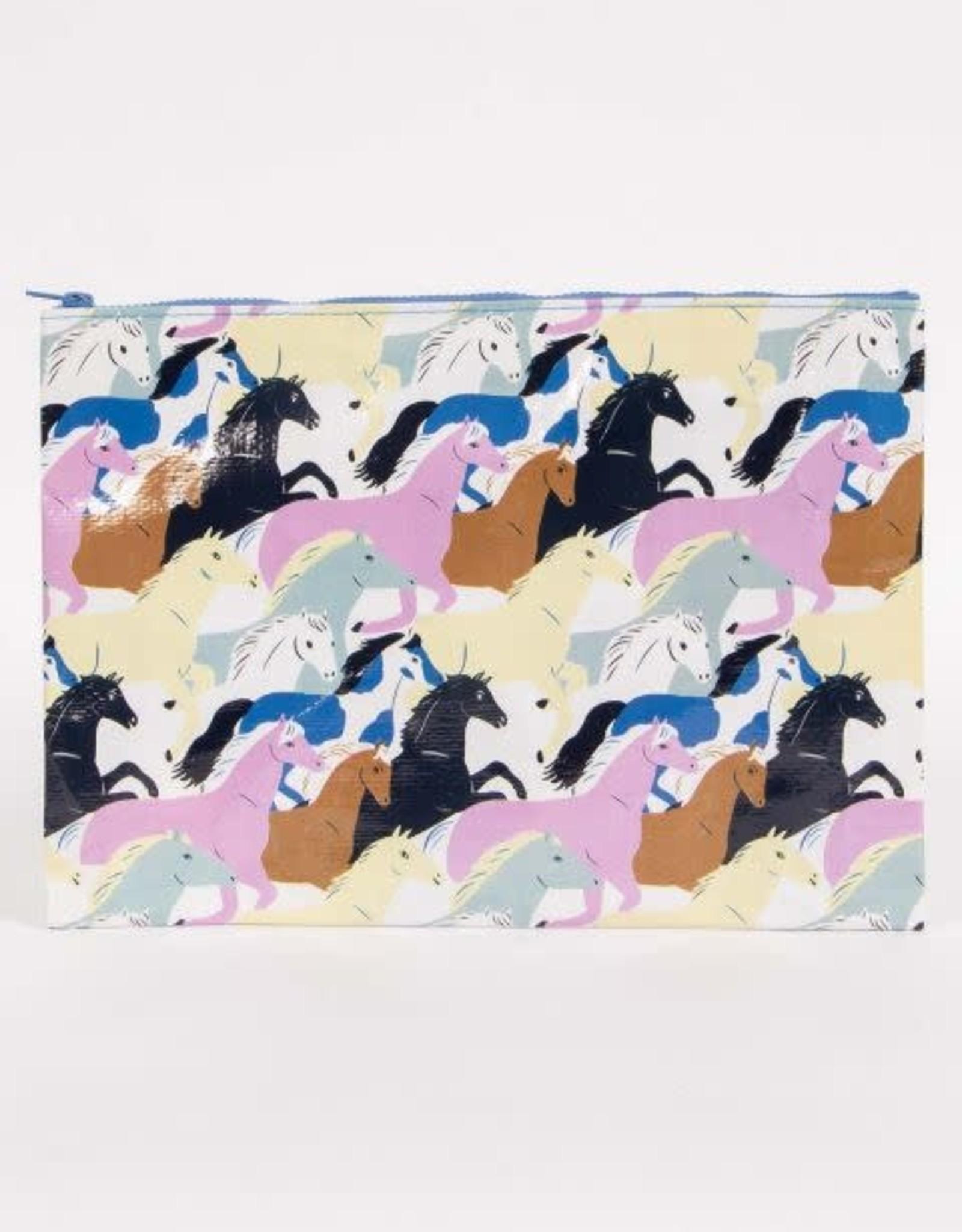 Wild Horses Jumbo Pouch