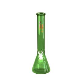 """16"""" Green Beaker w/ Ice Pinch by Infyniti"""