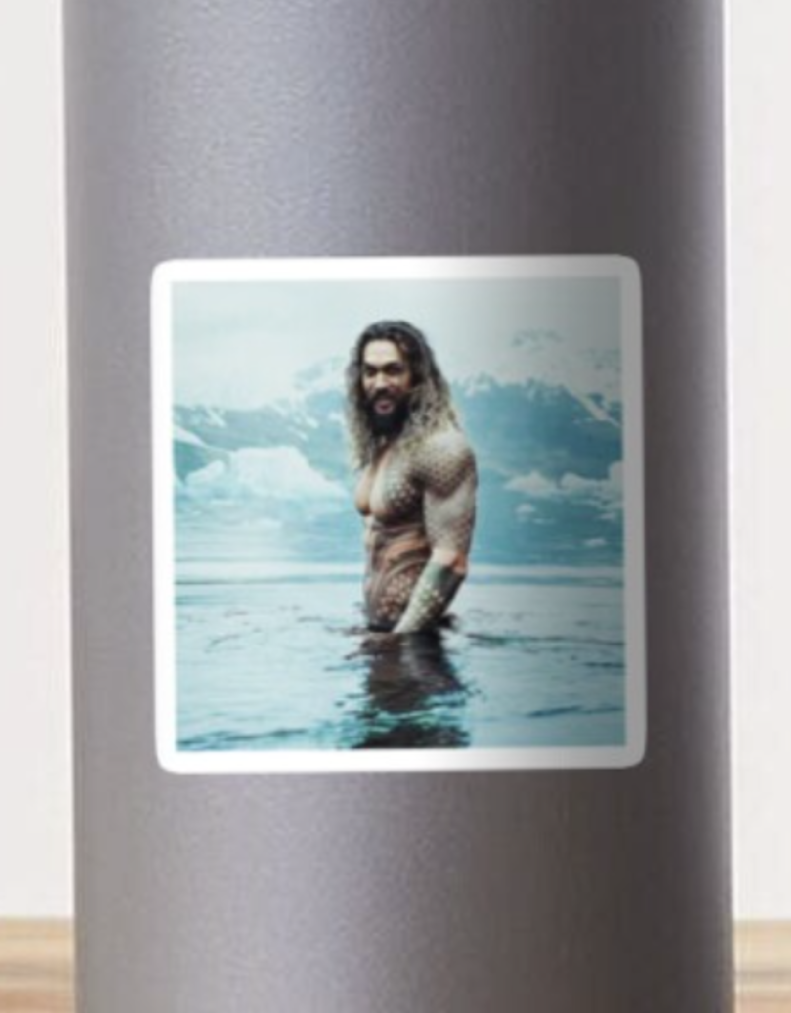 Jason Momoa Sticker