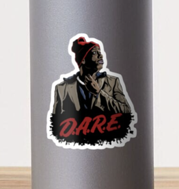 Tyrone Biggums Dare Sticker