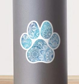 Mandala Paw Sticker