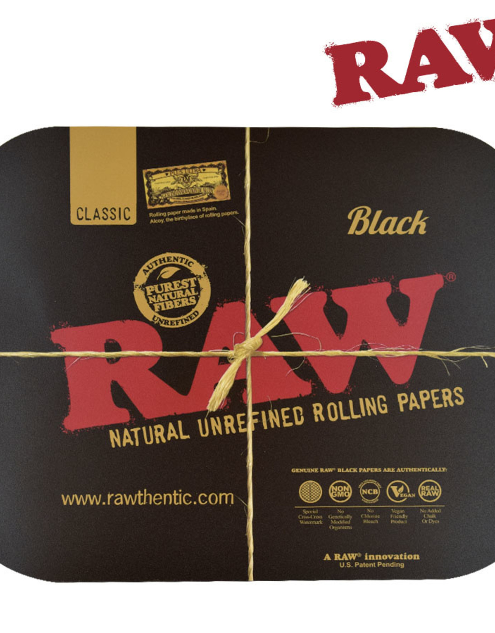RAW RAW Black Magnetic Tray Cover - Large