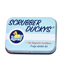 Scrubber Ducky 3.0 Tin w/ 2 Ducks, 2 Mini Eggs & 1 Micro Egg Scrubber