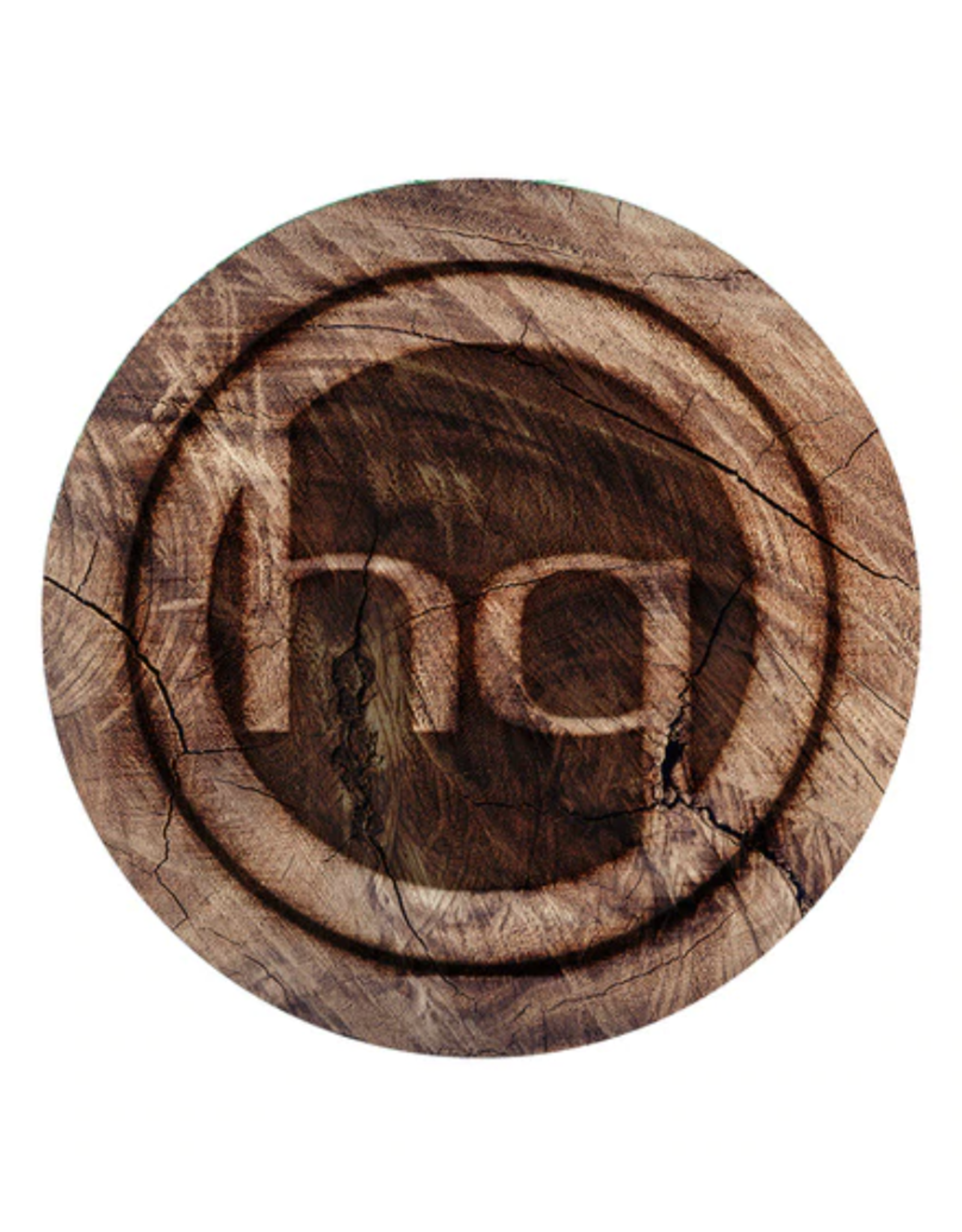 "5"" BOBHQ Woodgrain Dab Mat by DabPadz"