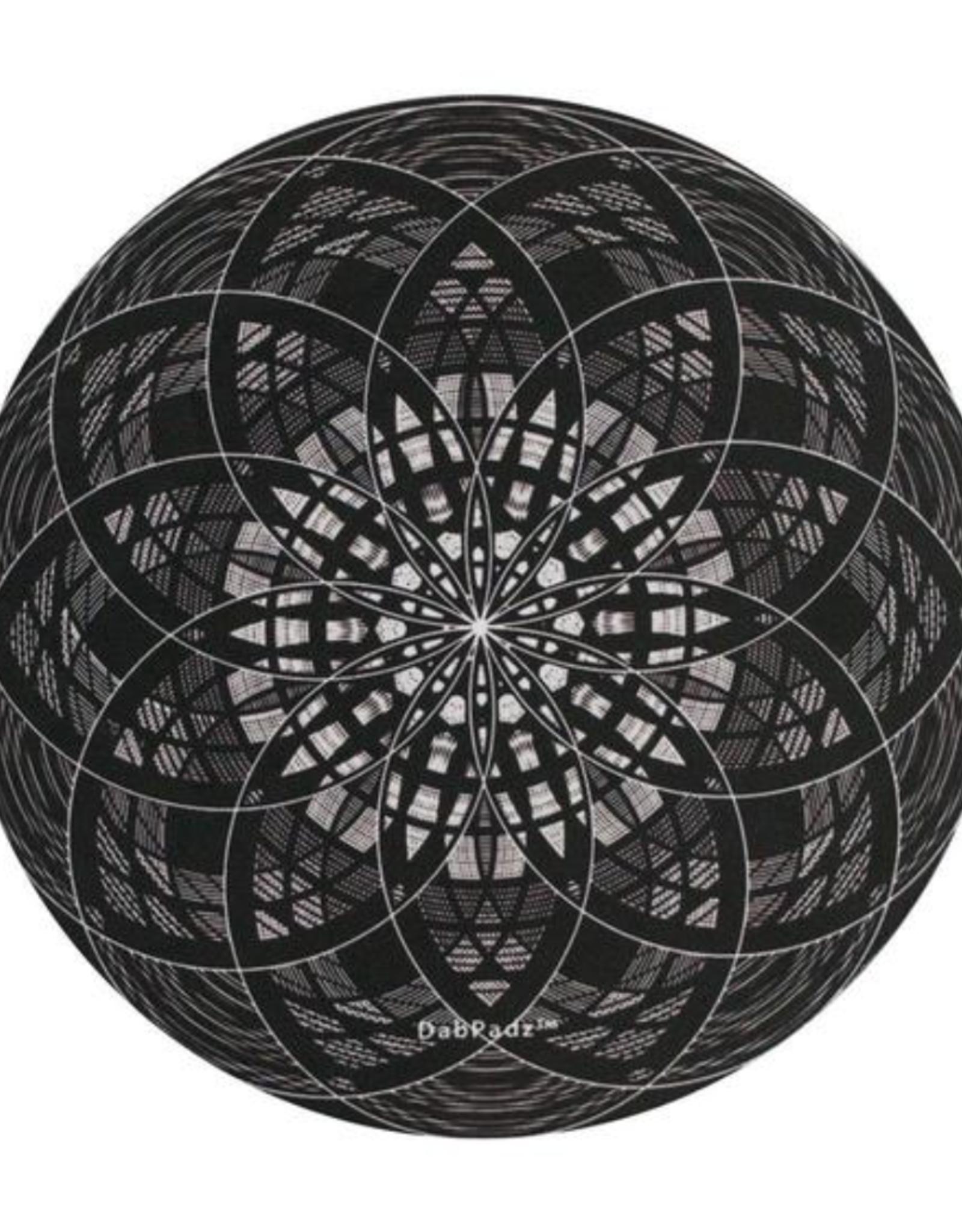 """8"""" Mind Flowers Dab Mat by DabPadz"""