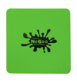 """NoGoo Silicone 7"""" x 7"""" SLAB-IN-IT Tray - Green"""