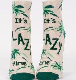 It's Lazy Time Ankle Socks