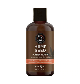 Earthly Body Exfoliating Hand Wash - Orange & Eucalyptus Oils
