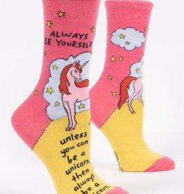 Always Be Yourself Crew Socks