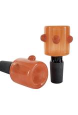 14mm Triple Bump Stove Pipe Bowl