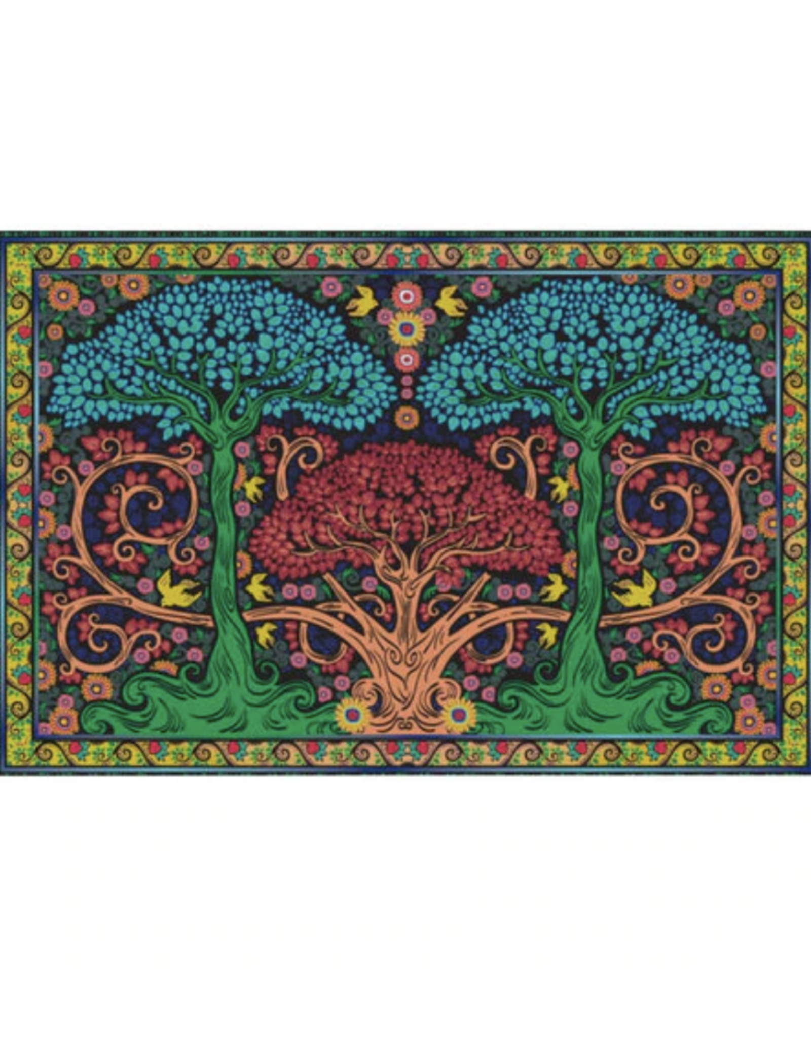 """Three Trees 3D Tapestry - 60"""" x 90"""""""