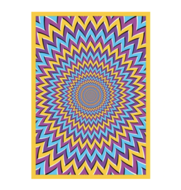 """Pyschedelic Motions Tapestry by ThreadHeads - 55"""" x 85"""""""