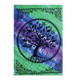 "Tree of Life Tapestry by ThreadHeads - 55"" x 85"""