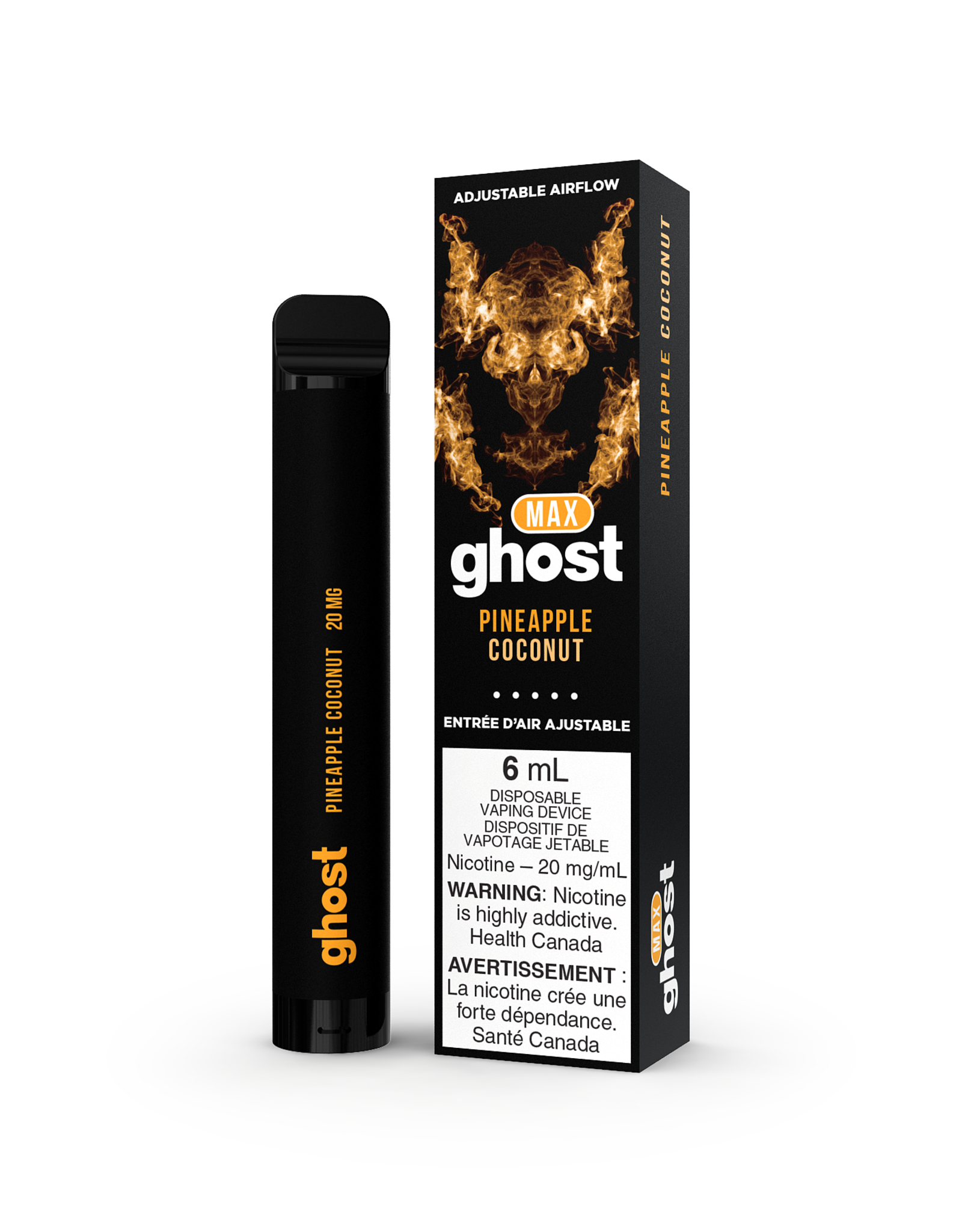 Ghost Max Disposable