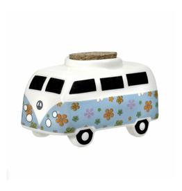 Hippie Van Ceramic Storage Jar