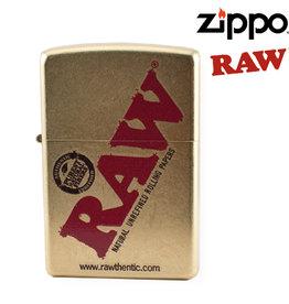 Zippo RAW Gold Zippo