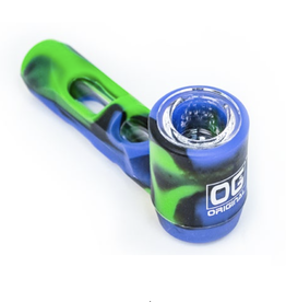 """4"""" Silicone Pipe with Glass Tube"""
