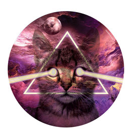 """11"""" Kitty in Space Dab Mat by My Dab Mat"""