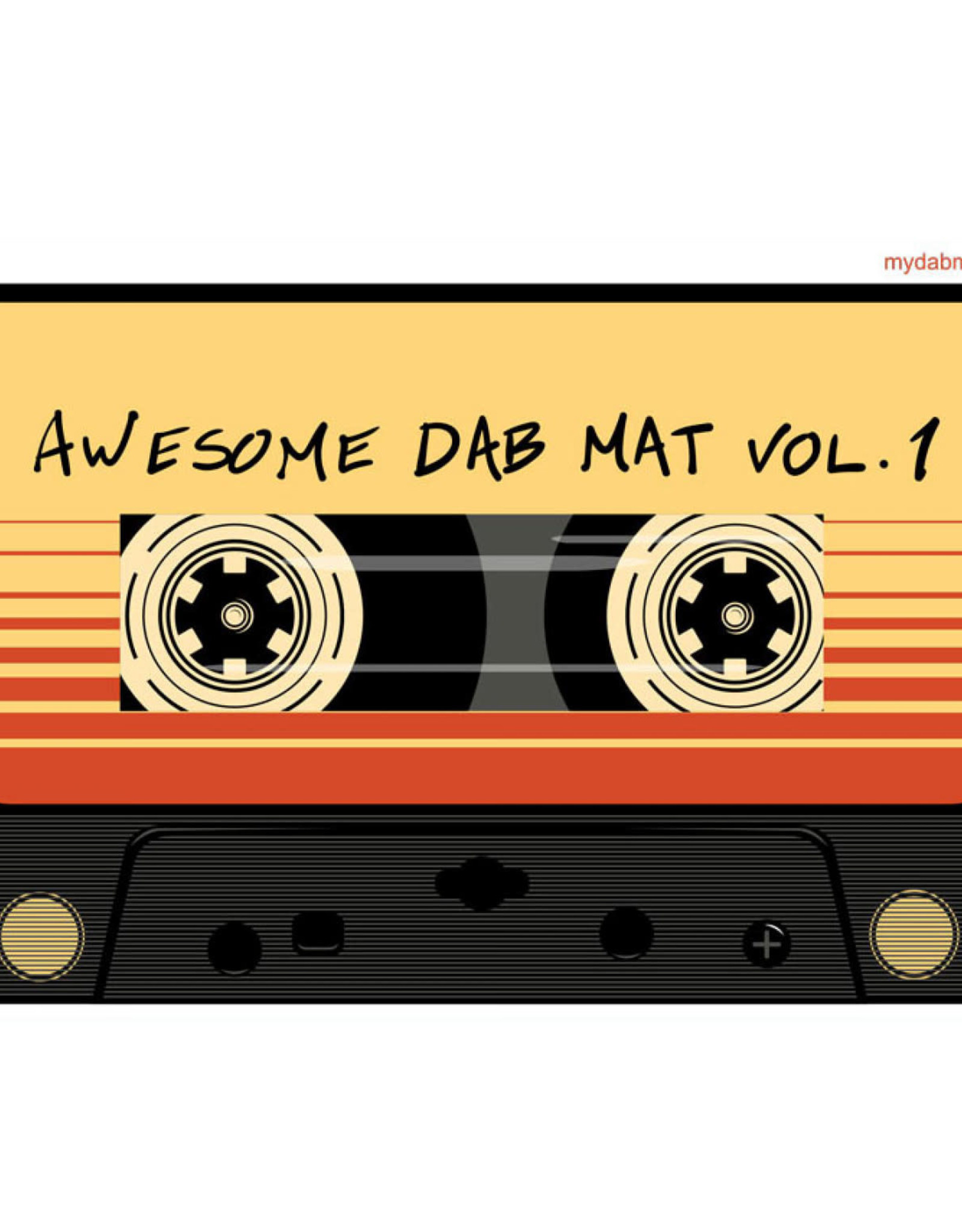 "11"" x 8.5"" Mix Tape Dab Mat by My Dab Mat"