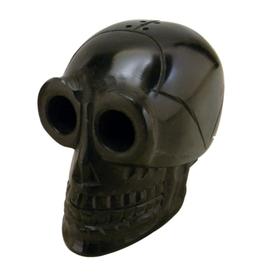 """3"""" Black Skull Stone Incense Burner"""
