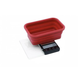 Truweigh - Crimson - Collapsible Bowl Scale 1000g x 0.1g