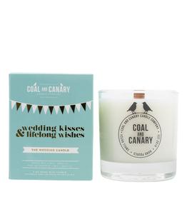 Wedding Kisses & Lifelong Wishes - 8oz. Wood Wick Candle