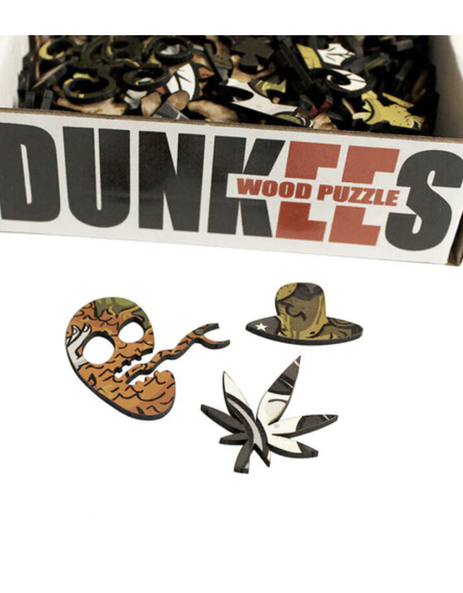 Hell Slide Dunkees Wooden Puzzle - 275 Piece