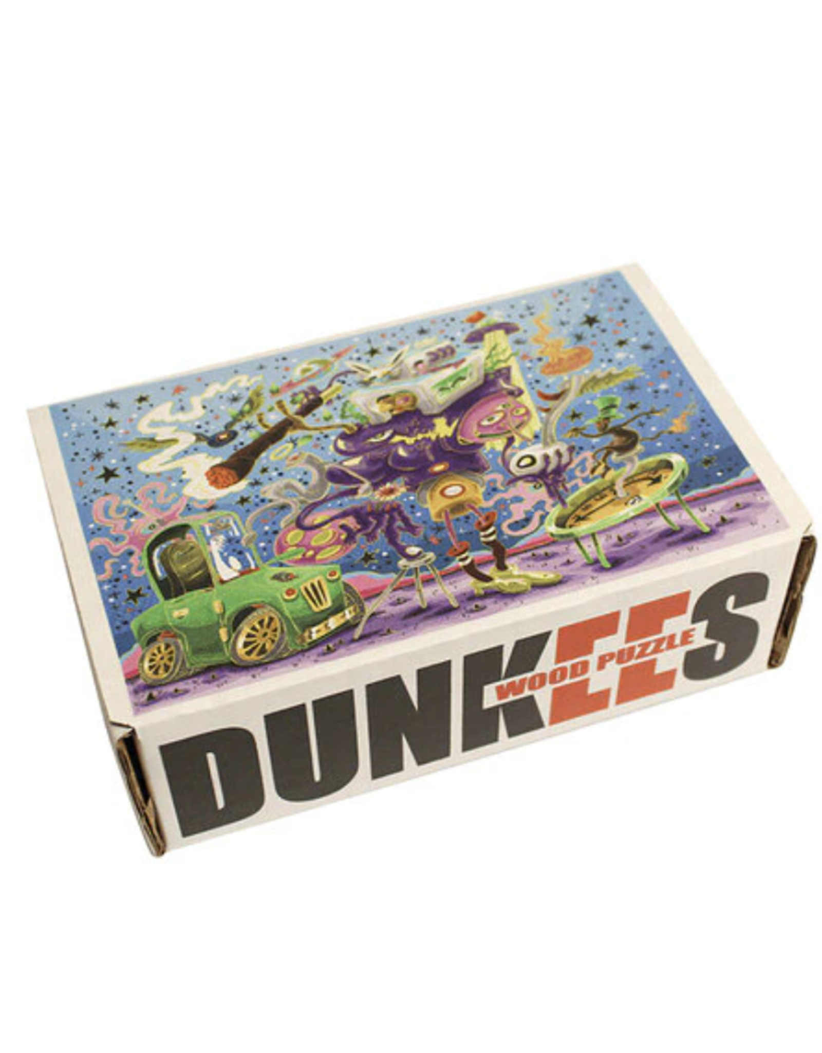 Fake People Dunkees Wooden Puzzle - 275 Piece