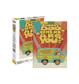 Scooby Doo - Where are You? Puzzle - 500 Piece