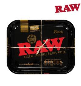 RAW RAW Black Rolling Tray - Large