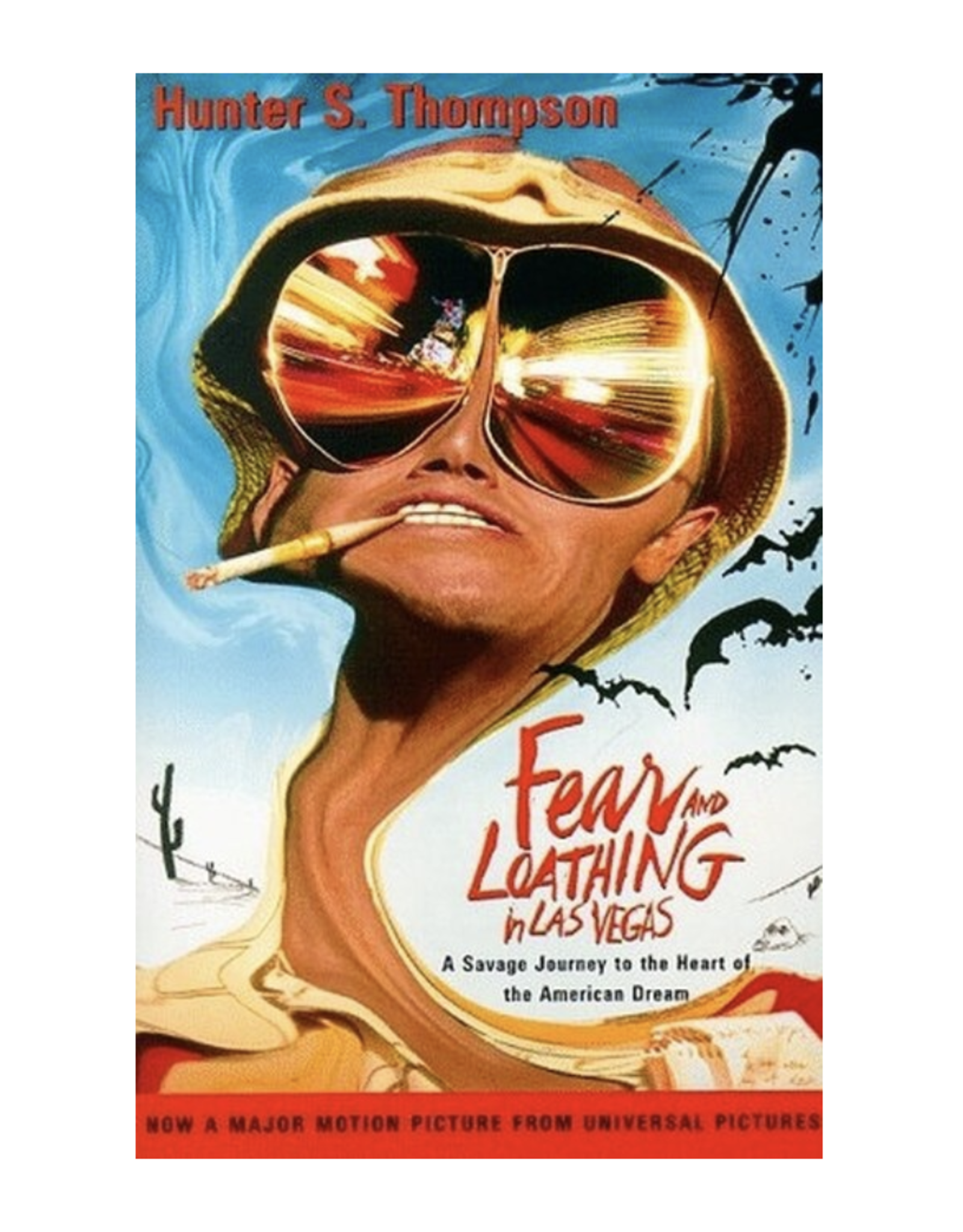 Fear and Loathing in Las Vegas by Hunter S. Thompson (Paperback)