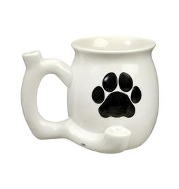 Premium Roast & Toast Mug w/ Pipe - Dog Paw