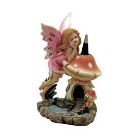 Fairy & Mushroom Backflow Cone Burner