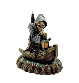 Reaper in Boat Backflow Cone Burner