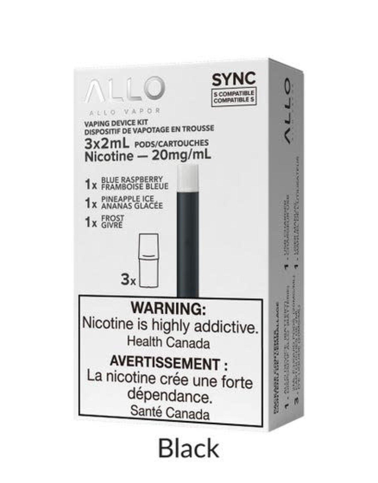 Allo Allo Sync Starter Kit (3 x 20mg Pods Included)