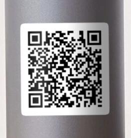 Circle Game QR Code Sticker