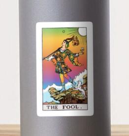 Psychedelic Fool Tarot Sticker