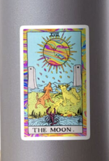 Psychedelic Tarot - The Moon Sticker