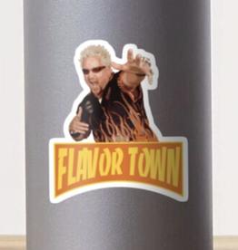 Flavor Town Sticker