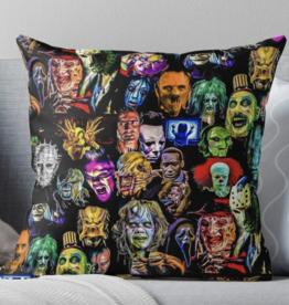Horror Collection Throw Pillow